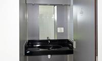 Wash-hand basin in Ker Eden campsite