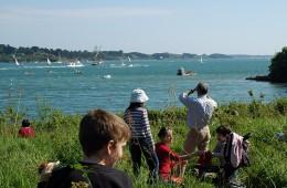 Randonnée en famille autour du Golfe du Morbihan