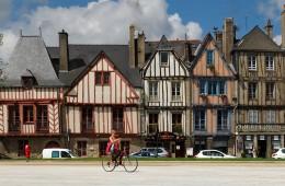 Maisons à pans de bois à Vannes