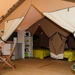 Coin cuisine Tente Victoria Lodge Camping Ker Eden