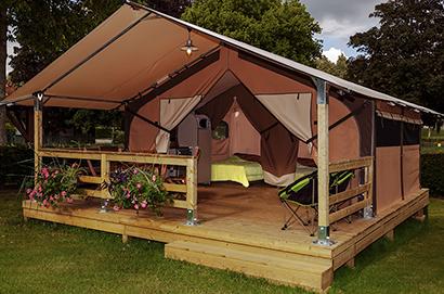 Lodge tent rental & Tent rental - Camping Ker Eden à Larmor Baden