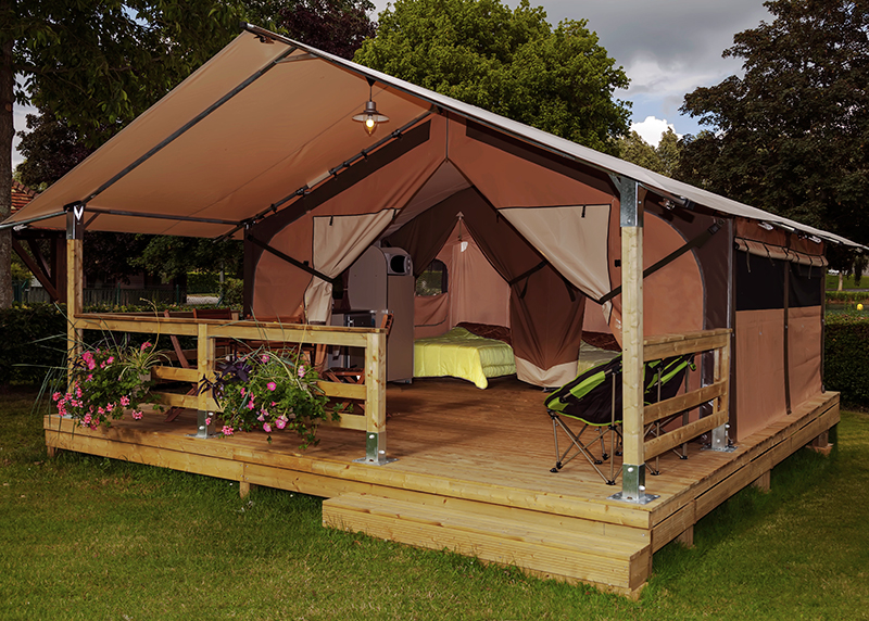 Tente Lodge Victoria 30m² pour 5 personnes