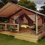 Lodge Victoria pour 5 personnes camping Ker Eden