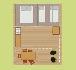 Plan tente Lodge Victoria