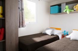 Chambre avec 2 lits simples Cottage Sinago ou Forban