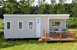 Le mobil-home Forban avec terrasse couverte