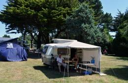 Emplacements pour tente, caravane et camping car au camping Ker Eden