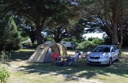 Emplacement pour tente et caravane au camping Ker Eden