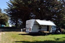 Emplacement pour camping car au camping Ker Eden