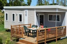 Cottage Forban avec terrasse couverte au camping Ker Eden