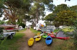 Le camping pendant la Semaine du Golfe