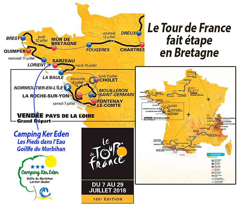 Tour de France en Bretagne cyclisme