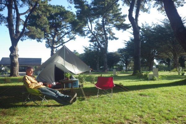 camping ker eden golfe du morbihan emplacement tente camping car