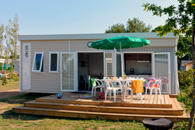 Hébergement mobil-home au camping Ker Eden