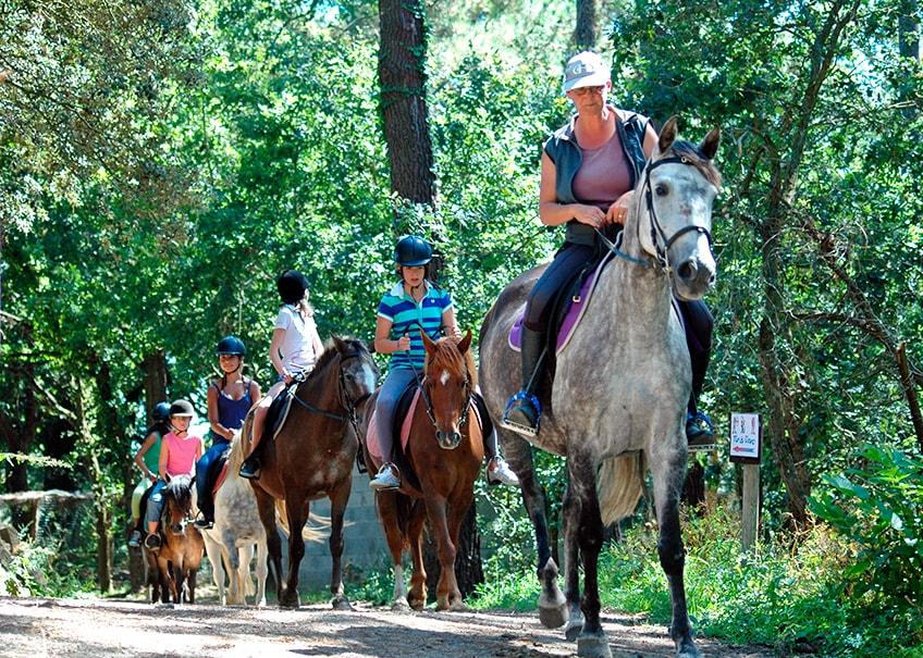 Loisirs à proximité du camping Ker Eden équitation