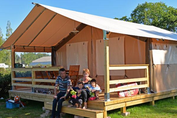 camping Ker Eden Golfe du Morbihan tente lodge hébergement