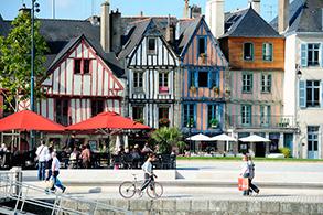 Tourisme visite du port de Vannes