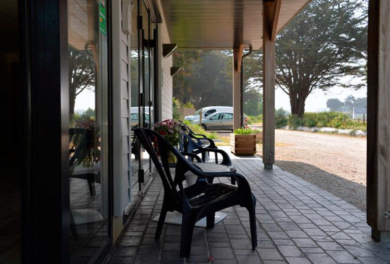 Réception du camping Ker Eden golfe du morbihan