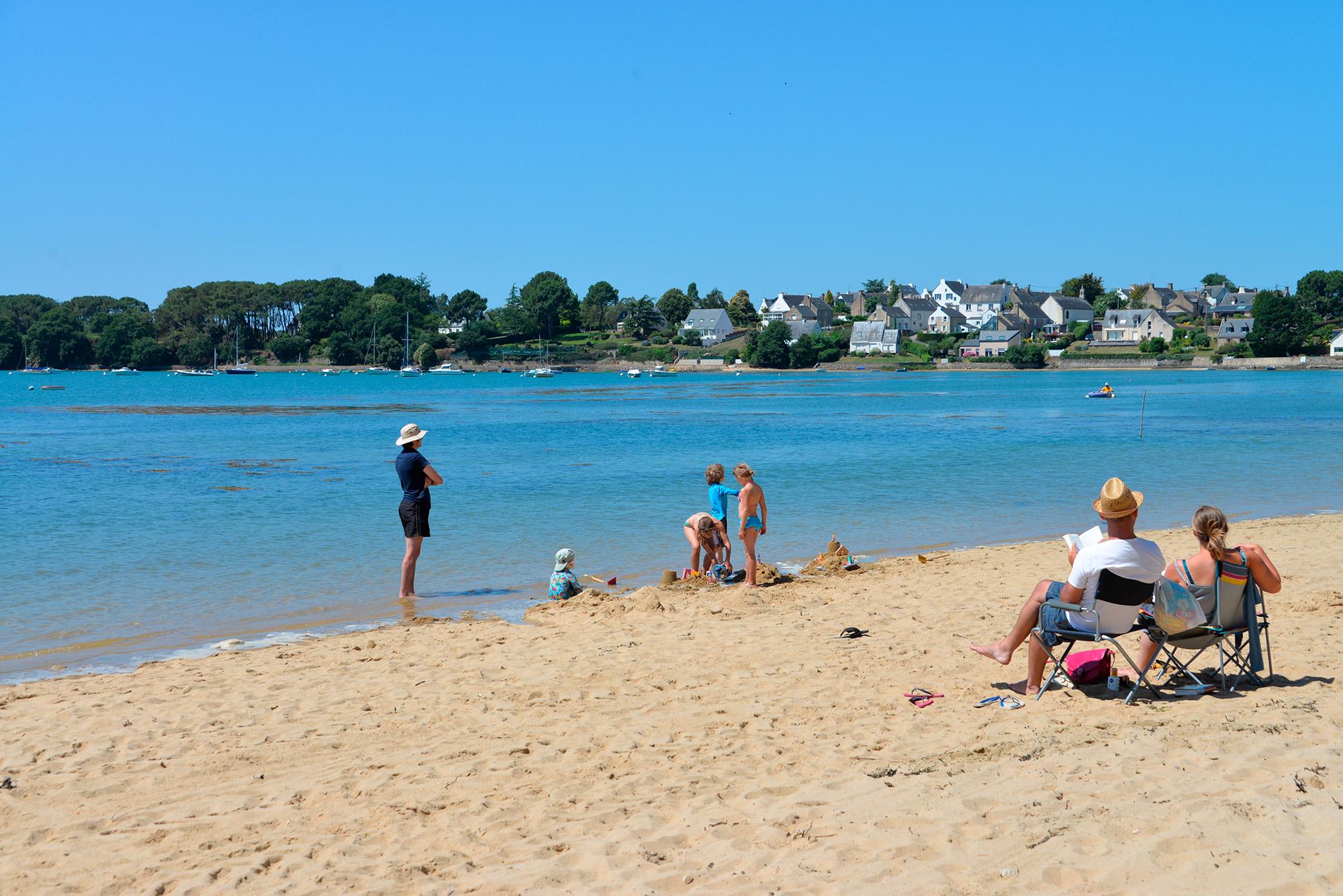 Camping accès direct à la plages