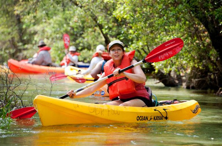 canoe-kayak golfe du morbihan
