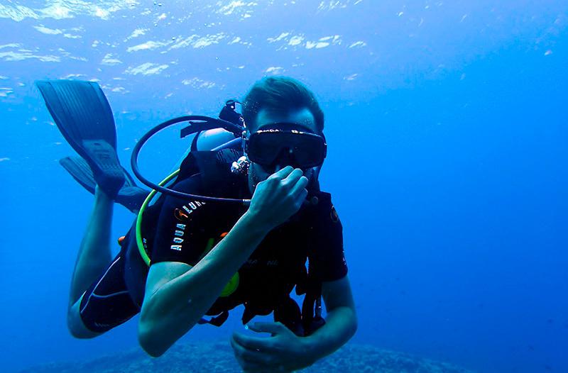 diving- plongée sous marine golfe du morbihan