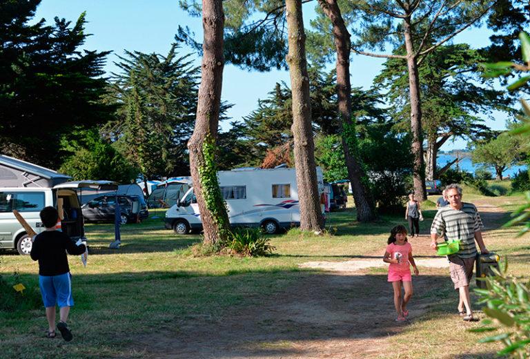 Emplacement camping Ker Eden