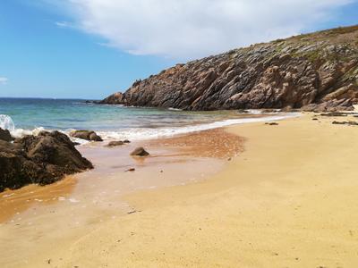 Plage de l'île d'houat Iles du Golfe du Morbihan