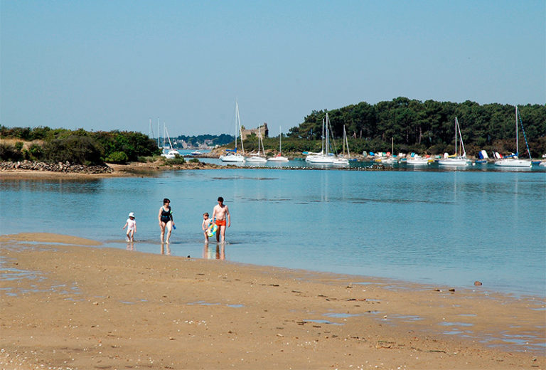 Plage des Sept-Iles Golfe du Morbihan