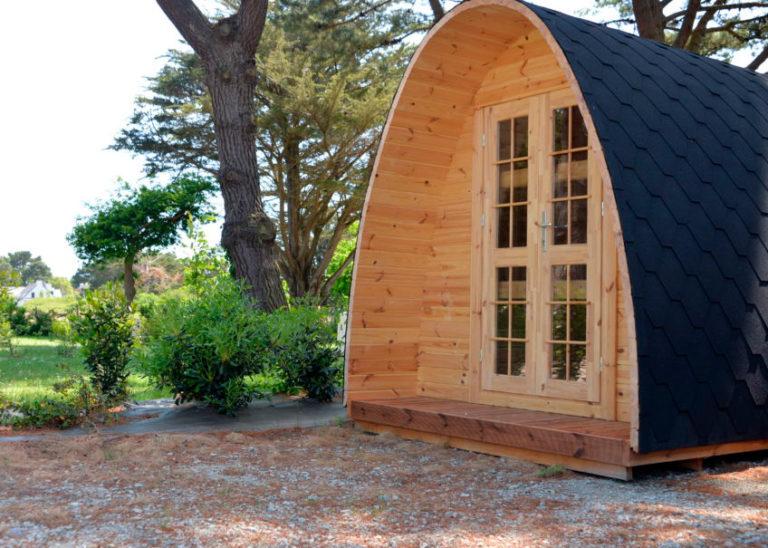 hébergement pod camping ker eden golfe du morbihan