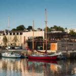 La Capitainerie sur le port de plaisance de Vannes © Emmanuel Berthier