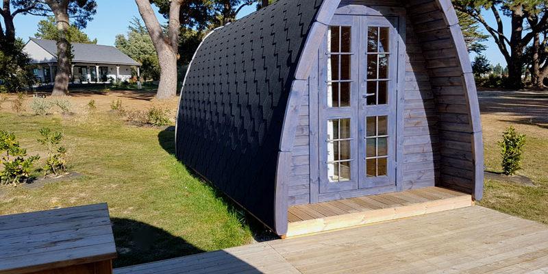 Camping Ker Eden séjour insolite en Pod dans le Golfe du Morbihan
