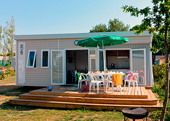 Location de mobil-home au camping Ker Eden