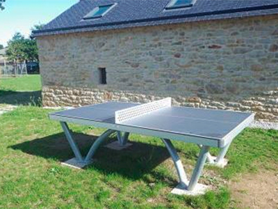 Table de ping pong camping Ker Eden