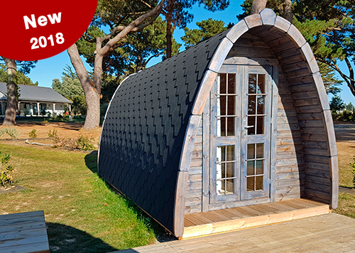 New Pod Ker Eden campsite Brittany