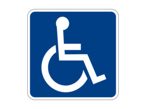 Accessible todisabled persons