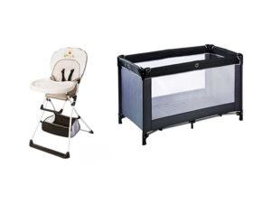 Location chaise et lit bébé