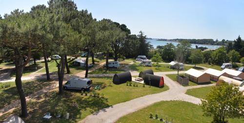 Camping Ker Eden accès direct à la plage