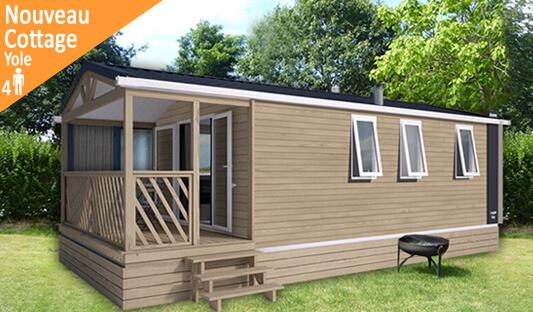 Nouveau cottage Yole au camping Ker Eden