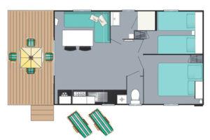 Loggia Cottage 2 chambres