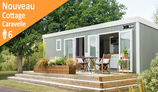 Nouveau cottage Caravelle au camping Ker Eden