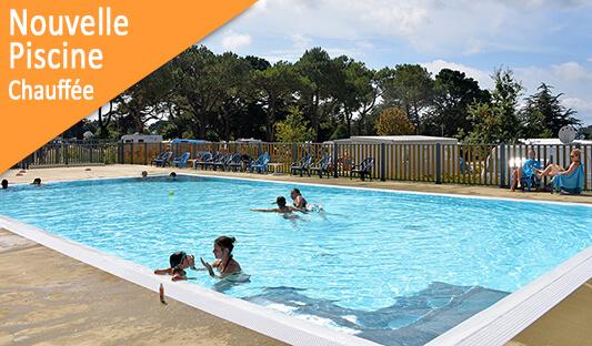 Nouvelle piscine au camping Ker Eden