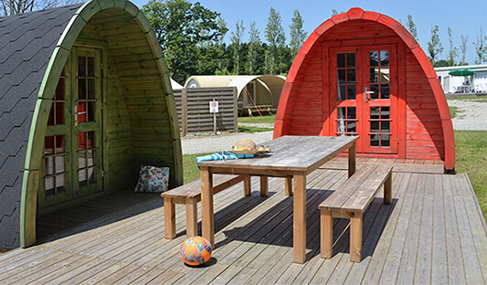 Location de pod au camping Ker Eden