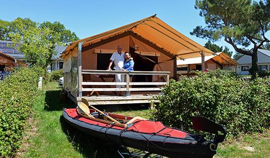 Location de tentes au camping Ker Eden