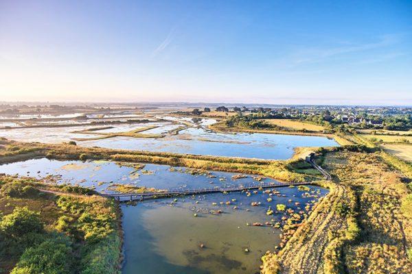 La Réserve de Séné © A. Lamoureux Golfe du Morbihan Vannes Tourisme
