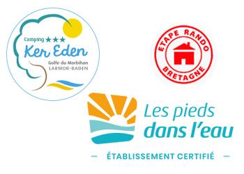 Logo Camping Ker Eden Les Pieds dans l'eau