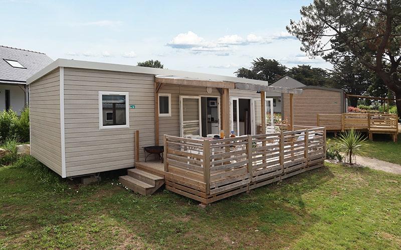 Cottage Caravelle et sa terrasse semi-couverte