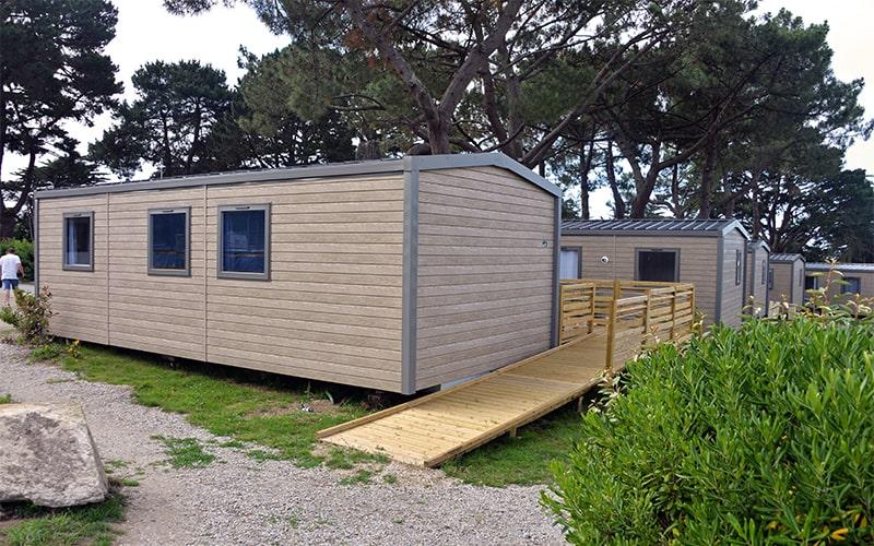 Rampe d'accès au cottage Vacances PMR