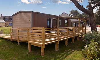 Nouveau mobil-home Vacances PMR au camping Ker Eden